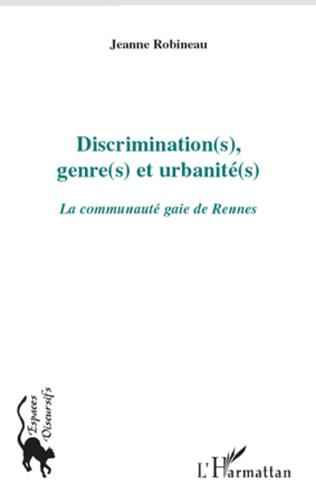 Couverture Discrimination(s), genre(s) et urbanité(s)