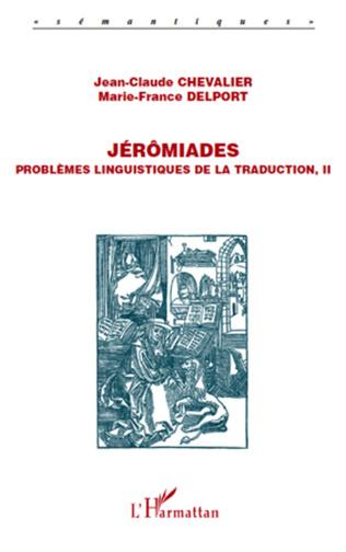 Couverture Jérômiades