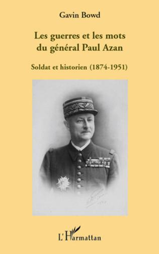 Couverture Les guerres et les mots du général Paul Azan