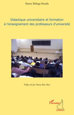 Couverture Didactique universitaire et formation à l'enseignement des professeurs d'université