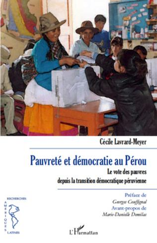 Couverture Pauvreté et démocratie au Pérou