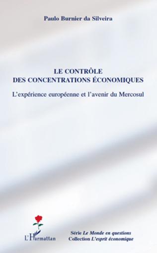 Couverture Le contrôle des concentrations économiques