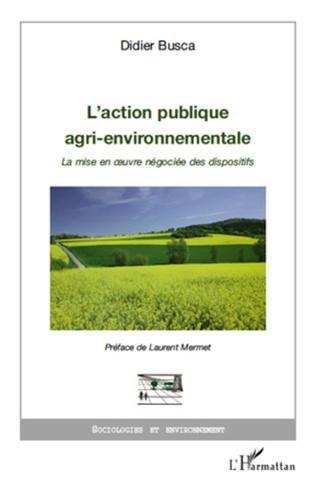 Couverture L'action publique agri-environnementale