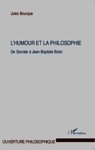 Couverture L'humour et la philosophie