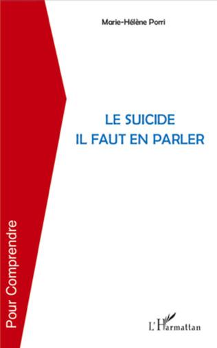 Couverture Le suicide il faut en parler