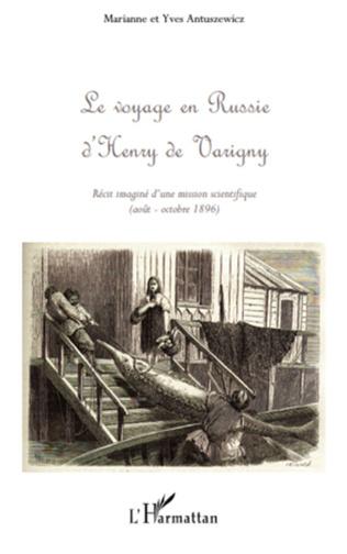 Couverture Le voyage en Russie d'Henry de Varigny