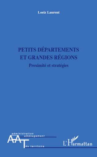 Couverture Petits départements et grandes régions
