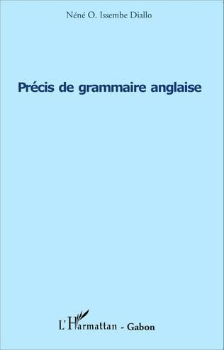 Couverture Précis de grammaire anglaise