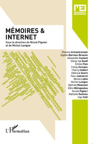 Couverture Mémoires et internet