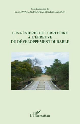 Couverture L'ingénierie de territoire à l'épreuve du développement durable