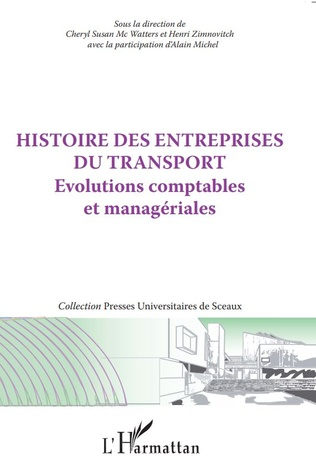 Couverture Histoire des entreprises du transport
