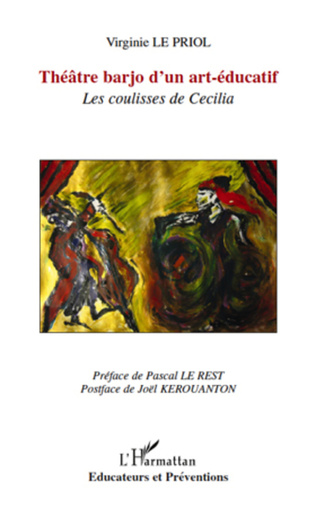 Couverture Théâtre barjo d'un art-éducatif
