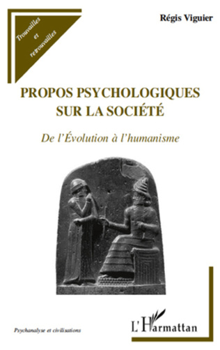 Couverture Propos psychologiques sur la société
