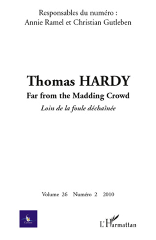 Couverture Thomas Hardy