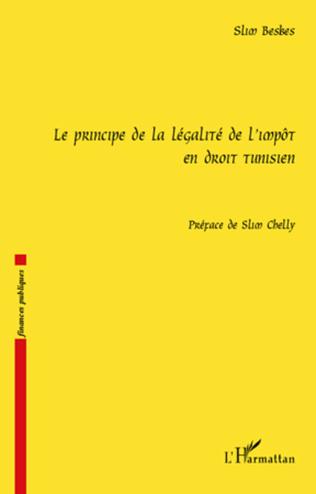 Couverture Le principe de la légalité de l'impôt en droit tunisien