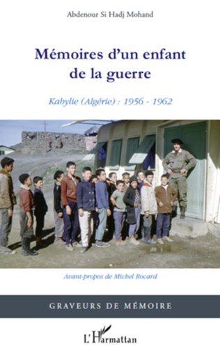 Couverture Mémoires d'un enfant de la guerre