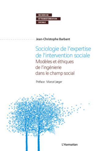 Couverture Sociologie de l'expertise de l'intervention sociale