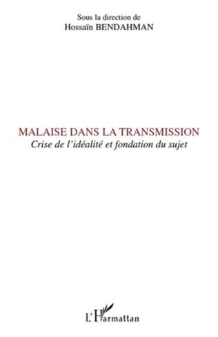 Couverture Malaise dans la transmission