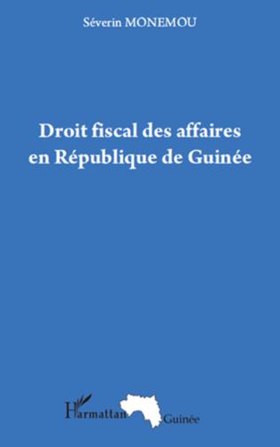 Couverture Droit fiscal des affaires en République de Guinée