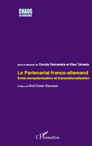 Couverture Le partenariat franco-allemand