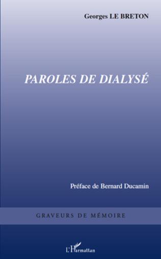 Couverture Paroles de dialysé