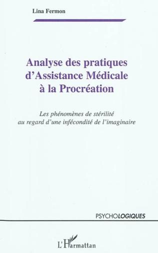Couverture Analyse des pratiques d'Assistance Médicale à la Procréation