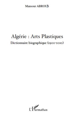 Couverture Algérie : Arts Plastiques