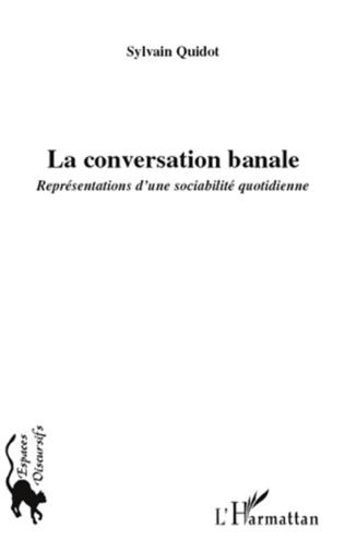 Couverture La conversation banale
