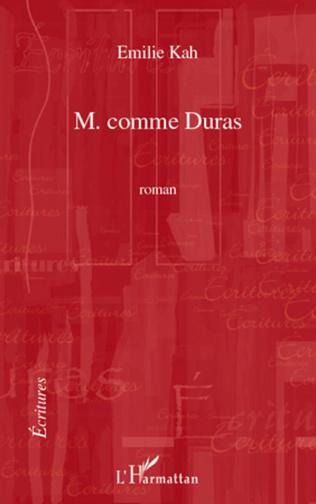 Couverture M COMME DURAS   ROMAN