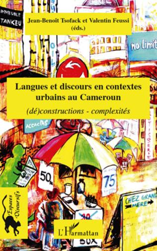 Couverture Langues et discours en contextes urbains au Cameroun