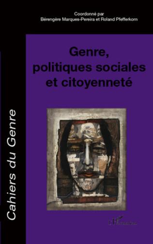 Couverture Genre, politiques sociales et citoyenneté