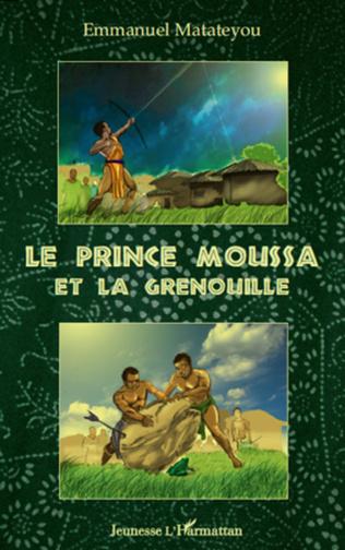 Couverture Le prince Moussa et la grenouille
