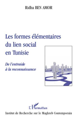 Couverture Les formes élémentaires du lien social en Tunisie