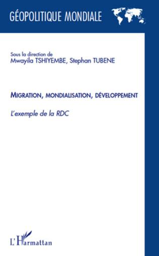 Couverture Migration mondialisation développement