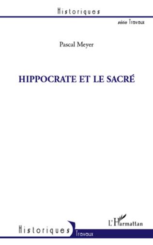 Couverture Hippocrate et le sacré