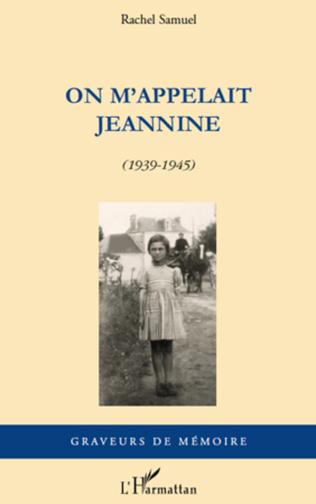 Couverture On m'appelait Jeannine