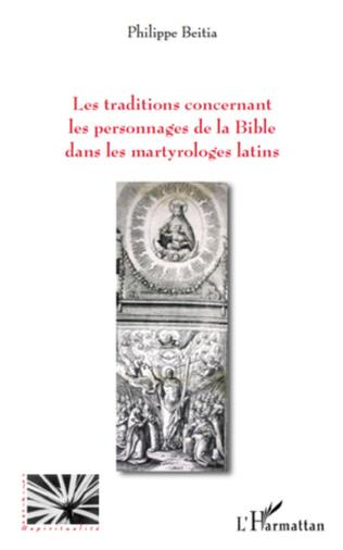Couverture Les traditions concernant les personnages de la Bible