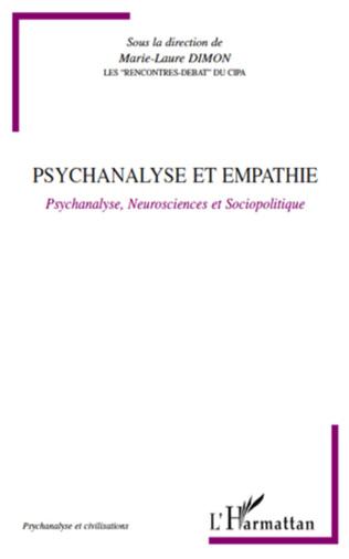 Couverture Psychanalyse et empathie