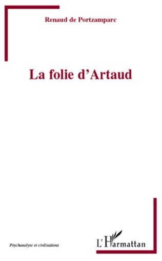 Couverture La folie d'Artaud