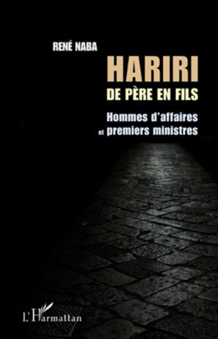 Couverture Hariri de père en fils