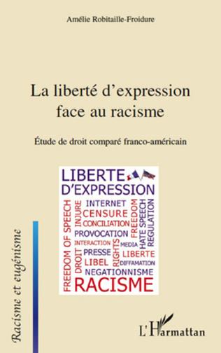 Couverture La liberté d'expression face au racisme