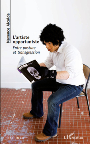 Couverture L'artiste opportuniste