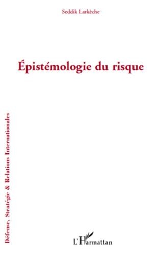 Couverture Epistémologie du risque