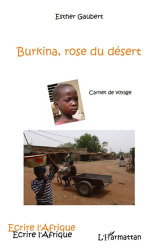 Couverture Burkina, rose du désert