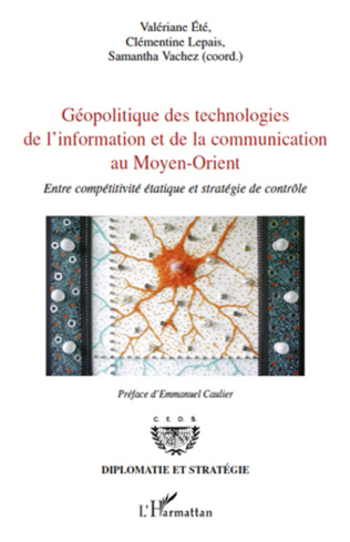 Couverture Géopolitique des technologies de l'information et de la communication au Moyen-Orient