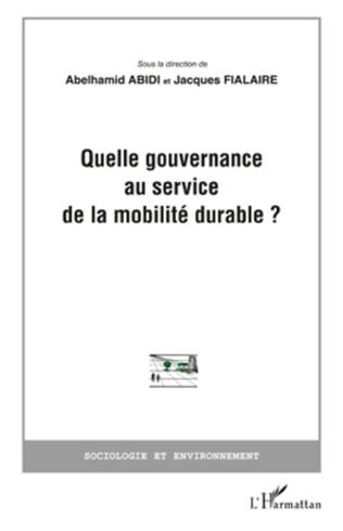 Couverture Quelle gouvernance au service de la mobilité durable?