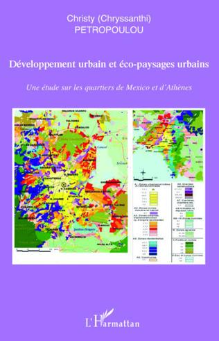 Couverture Développement urbain et éco-paysages urbains