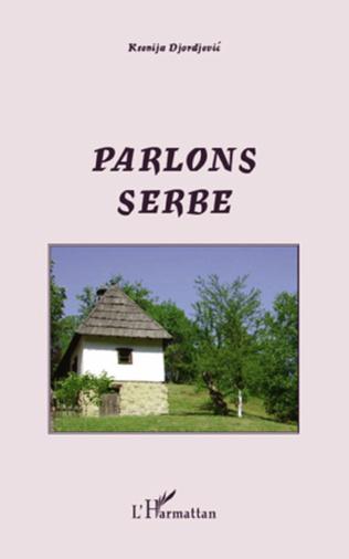 Couverture Parlons serbe
