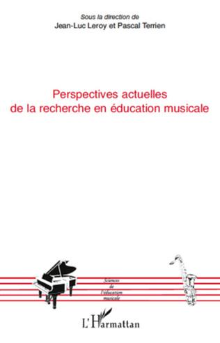 Couverture Perspectives actuelles de la recherche en éducation musicale