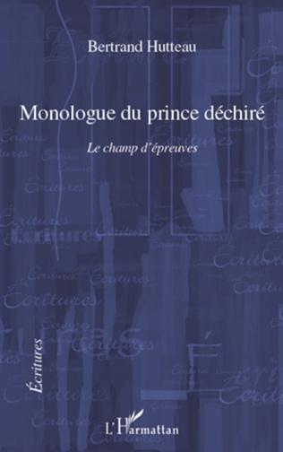 Couverture Monologue du prince déchiré